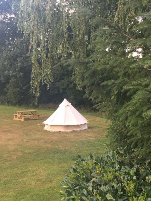 Hafod Brynog Tent Camping